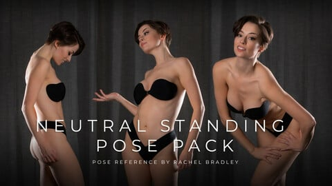 Neutral Standing Pose Pack - Pose Reference for Artists