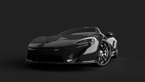 McLaren P1 model
