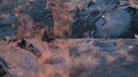 C4D Octane render Moutain  Terrascape landscape pack