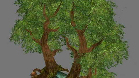 Game Model Arena - Tree City Portal 01