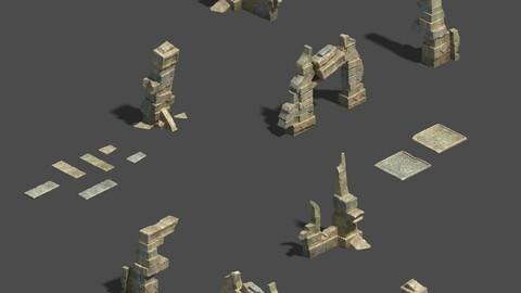 Desert - Residual Buildings