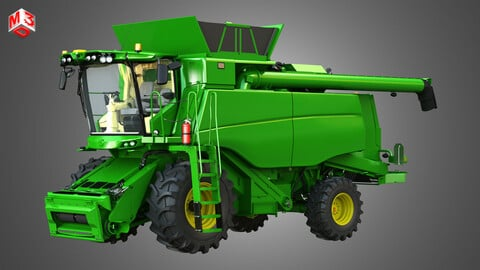 T560 Harvester Combine - with Wheels