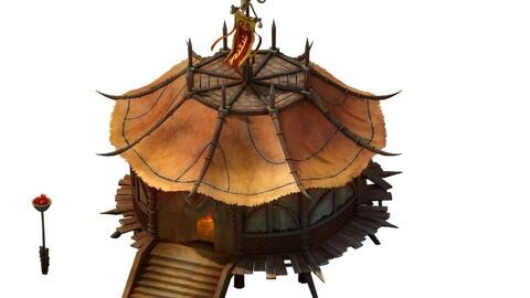 Desert Gobi - octagonal tent 02