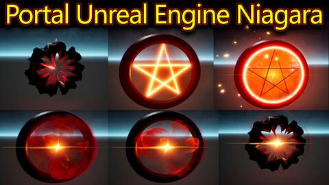 Portal in UE4.26 Niagara