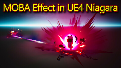 Projectile Hit FX in UE4.26 Niagara
