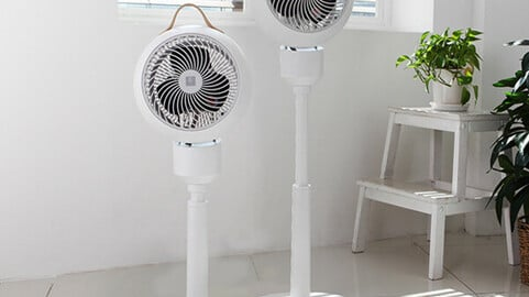 360 degree rotating stand air circulator