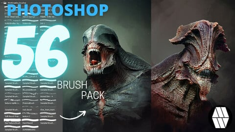 MLW_Creative 56 Brush Pack - Photoshop