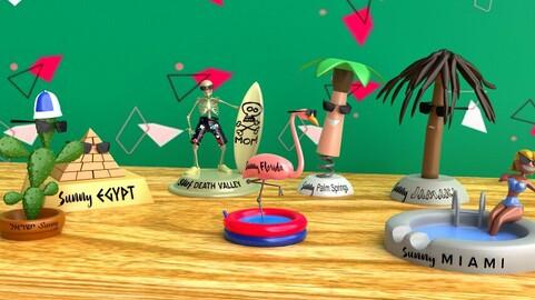 Knick Knack Wallpaper (Animated)