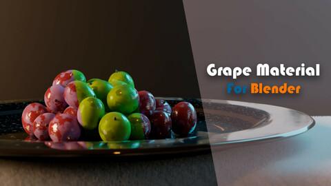 Grape Material (Procedural, Customizable)