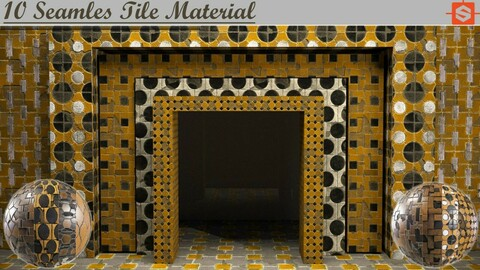 10 Seamles Tile Material