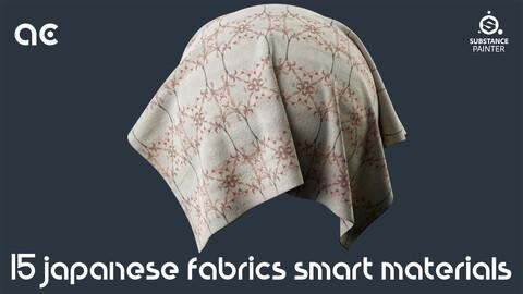 Japanese Fabrics Smart Materials Collection Vol.3 | 15 Smart Materials