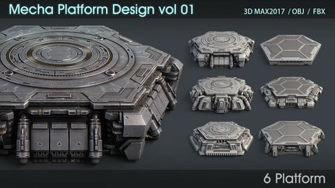 Mecha Platform Design vol 01