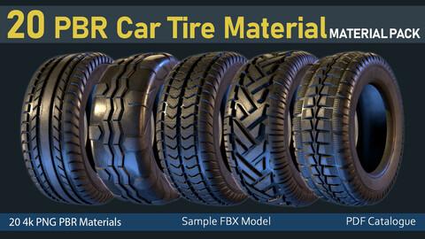 20 PBR Car Tier Material