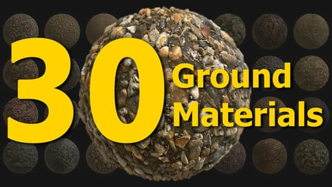 30 Ground Materials - SBSAR