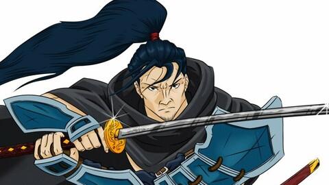 Human Samurai - DnD Character