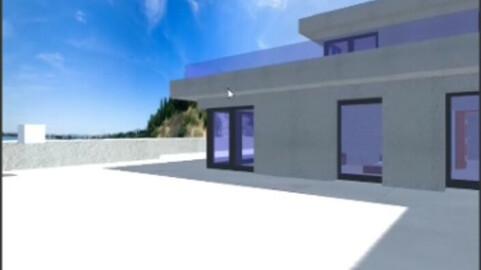 Recorrido virtual de casa moderna