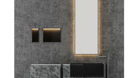 Electric - Stone Bathroom