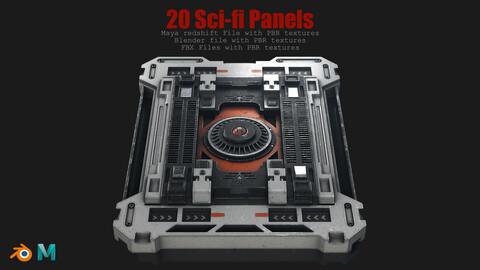 20 Sci-Fi Panels