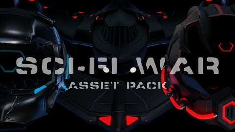 Sci-Fi War - Asset Pack