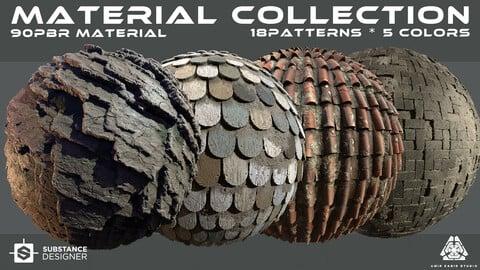 90 PBR Materials