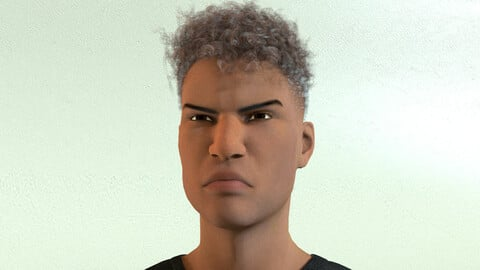 African Male 02