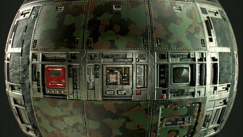 PBR - WAR ROOM / BUNKER / V1- 4K MATERIAL