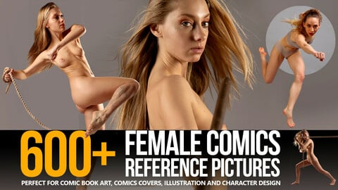 600+ Female Comics Reference Pictures