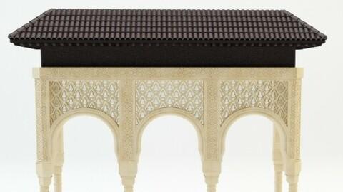 Alhambra Arcades Columns