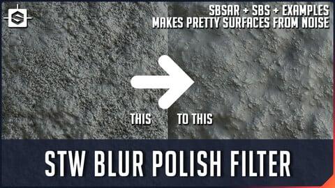STW Blur Polish Filter- Substance Designer Tool