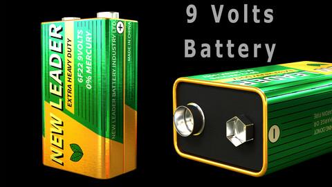 9 Volts Battery