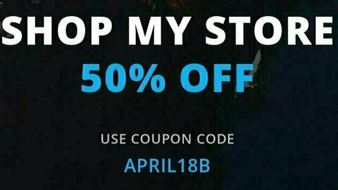 50% OFF On All Products (Till 30th April)