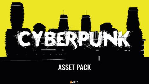 Cyberpunk - Asset Pack