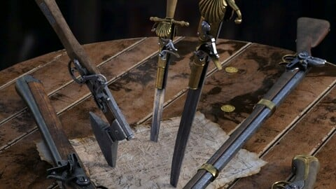 Ye Ole Pirate Weapons