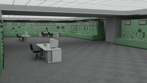 Fukushima Daiichi nuclear power plant control room
