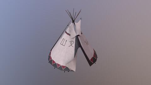 Shaman Tent 3D Model