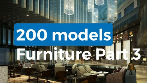 200 models furniture part 3