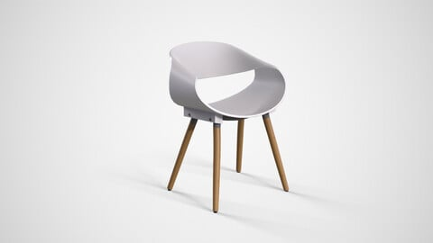 Matteo Cafe Chair white