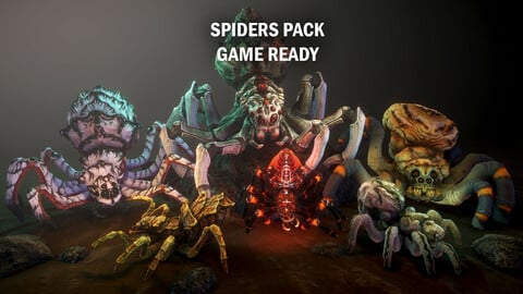 Spiders pack
