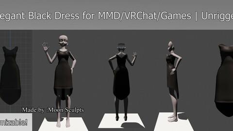 High Fashion Elegant Black Dress April 2021 | Unrigged