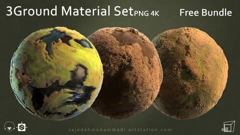 3 Ground Material (Free Bundle)