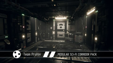 Modular Sci-Fi Corridor Pack