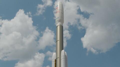 Missile Mars 2020 3D model
