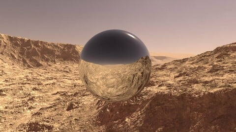 Mars 360 HDRI 20K