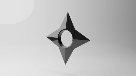 3D Shuriken from Naruto