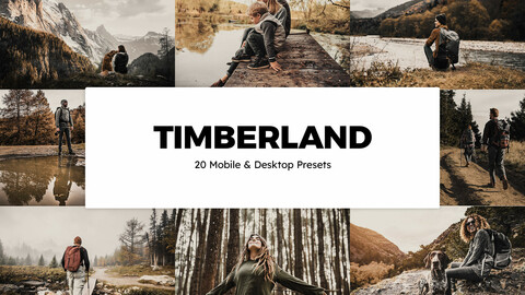 20 Timberland LUTs and Lightroom Presets