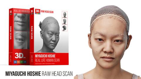 Miyaguchi Hoshie / Raw 3D Head Scan