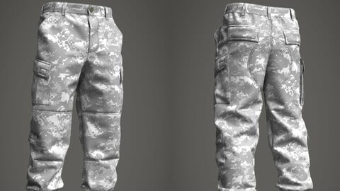 Military Pants (ACU Army Combat Uniform)