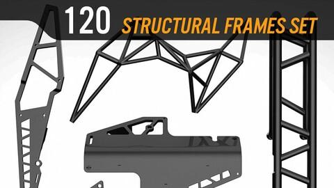120 Structural Frames Set