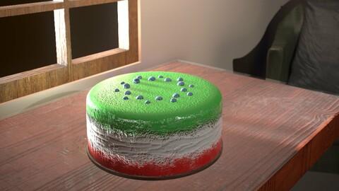 3D Cake Asset