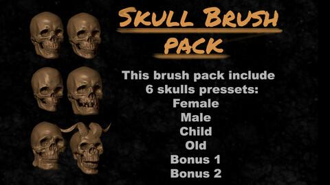 ZSkull Brush Pack